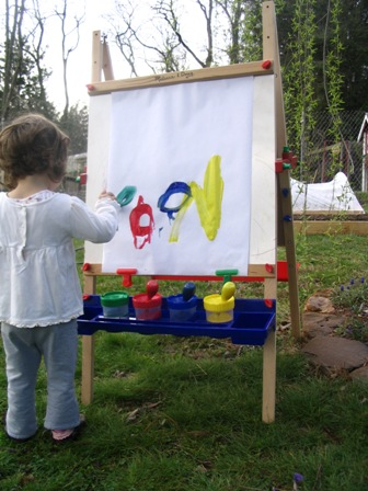 Painting at the Easel 1
