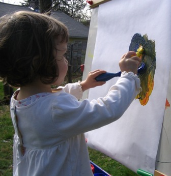 Painting at the Easel 2