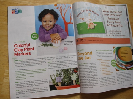 Toddler Art Group in FamilyFun Magazine