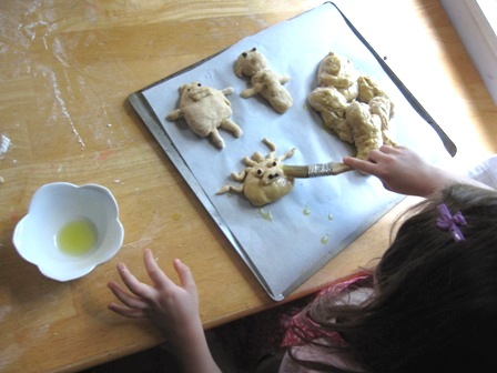 Bake Monster Bread with Kids