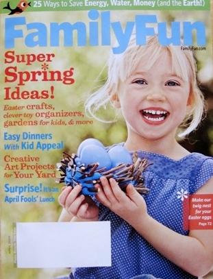 FamilyFun Magazine Cover