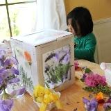 Flower Petal Art Box