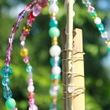 Beaded Garden Ornaments