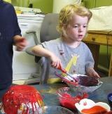 Painting Papier Mache Bowls