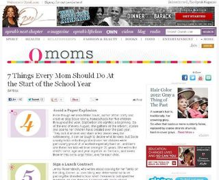 Artful Parent on Oprah Website