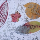 Paper Leaf Drawings