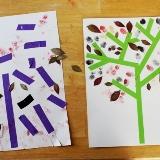 Masking Tape Trees