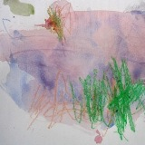 Watercolors and Oil Pastels with the Toddler Art Group