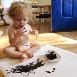 Toddler First Painting Experience