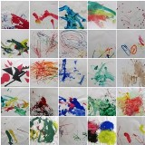 Toddler Art Drawings and Paintings