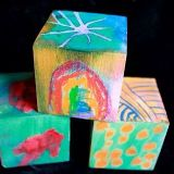 Wooden Art Blocks