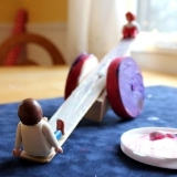 Toy Seesaw