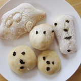 Bread Dough Faces