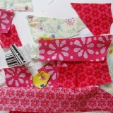 Fabric Scrap Collage