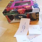Collaged Spring Fun Box