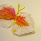 Watercolor Coffee Filter Butterflies