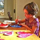 Teaching Children How to Mix Paints