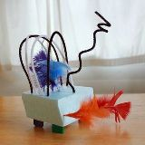 Wire Sculptures with Pipecleaners