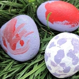 Painted Easter Rocks