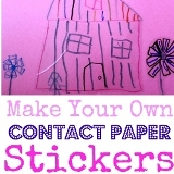 Contact Paper Sticker Collage