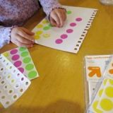 Toddlers Sticker Art Activity Collage