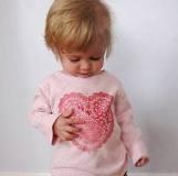Doily Heart Print Shirt