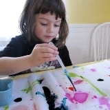 Tissue Paper Watercolor Wrapping Paper