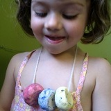 Painting Homemade Beads with Watercolors