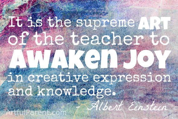 Albert Einstein Creativity and Education Quote