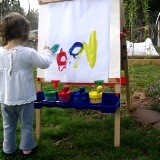 Painting at the Easel and other easel ideas