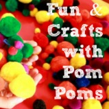 Fun Crafts with Pom Poms