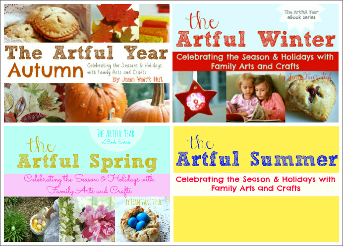 The Artful Year eBook Series Covers
