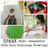 Hole Drawings and Paintings