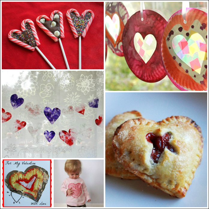 Valentines Day Crafts in The Artful Winter eBook