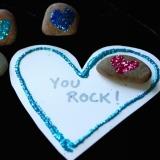 Glitter Rock Valentines
