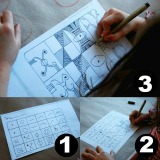Drawing with kids using the Monart Method 1