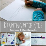 Drawing with Kids Using the Monart Method Lesson 1 Continued