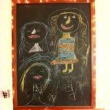 A Chalkboard Drawing