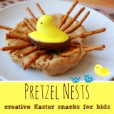 Pretzel Nests Creative Easter Snacks for Kids