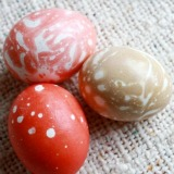 Kool Aid Marbled Easter Eggs