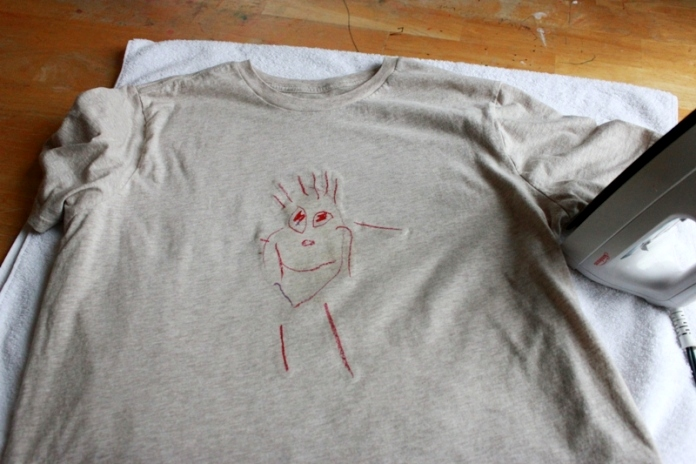 Transfer Kids Drawing to A Tshirt 16