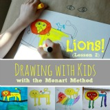 Drawing with Kids Monart Method lesson 2