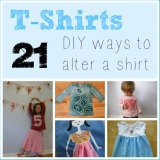 T-shirts 21 diy ways to alter a shirt