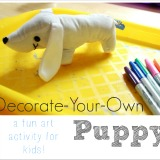 Decorate Your Own Puppy Dog