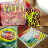 Yarn Painting On Canvas