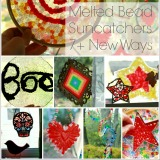 Melted Bead Suncatchers 7 New Ways