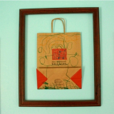 Why I Framed My Ten Thousand Villages Bag