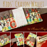 Inspiring Creativity with Crayon Wallets from Mama May I Shop