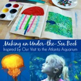 Making an under the sea book