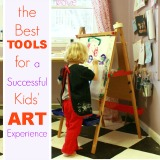 The best tools for a successful kids art experience